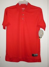 Polo Shirt Short Sleeve Gold's Gym Red Size XL