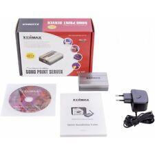 Edimax Fast Ethernet USB / Parallel Print Server PS-1206P 10/100Mbps