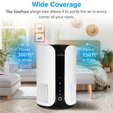 Home Air Purifier Hepa Air Cleaner Fresher for Allergies Remove Odor Smoke Dust