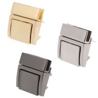 Square Buckle Twist Lock Hardware For Bag Shape Handbag DIY Turn Locks Bag Clasp