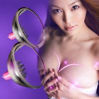 Electric Breast massage device Spin 10 stimulator rotation pattern Women Nipple