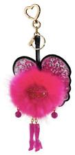NWT Victoria's Secret Pink Runway Angel Pom Pom Key Chain