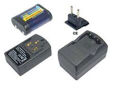 PowerSmart Akku + Ladegerät für Contax 645 N1 RX 2CR5