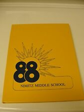 1988 Nimitz Middle School Yearbook - Tulsa, OK. / NIMITZ MAST *** LQQK!