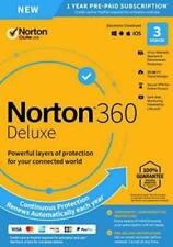Norton 360 Deluxe 2020 3 Devices 3 PC 1 Year + Secure VPN Internet Security 2019