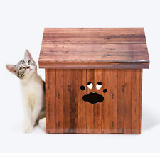 Wooden House Foldable Cat scratch board Inside Dog House Top Quality Pet Bed For