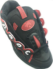 Scarpe Skate Osiris D3 2001 Black Red Black 40 44 Ultimi Rimasti!