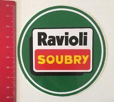 Aufkleber/Sticker: Ravioli Soubry (060616109)