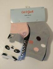 Cat & Jack Toddler Girls' Size 2T- 3T 6 Pairs of Koala Crew Socks.