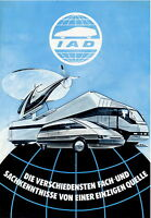 IAD International Automotive Design Prospekt 1979 brochure Autoprospekt broschyr