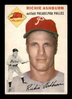 1954 Topps #45 Richie Ashburn EX/EX+ Phillies 403587