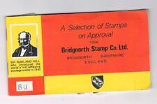 Bridgnorth Stamp Co Ltd  - Selection of postage stamps on Approval - Booklet