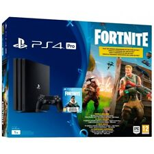 Consola Sony PS4 Pro 1TB negra Fortnite