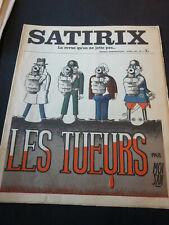 Revue Satirix n° 1 à 22 - COLLECTIF (Sennep, Effel, Dubout, etc.)-1971/1973-TBE