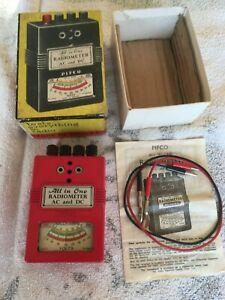 VINTAGE PIFCO ALL IN ONE RADIOMETER AC & DC IN BOX