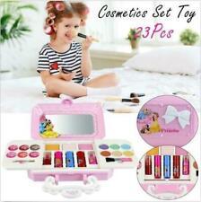 Kinder Kosmetikkoffer Kosmetiktasche Schminkkoffer Mädchen Makeup Spielzeug Set