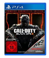 PS4 Spiel Call of Duty: Black Ops 3 III + Zombies Chronicles Edition NEU
