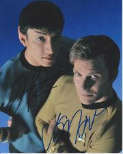 VIC MIGNOGNA + TODD HABERKORN Star Trek Continues SIGNED 8X10 Photo PROOF