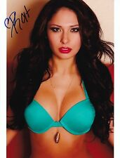 KAT KELLEY Signed 8x10 Photo HOT & SEXY MODEL / MMA RING GIRL / ROYAL FLUSH GIRL