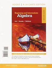 Beginning and Intermediate Algebra, Books a la Carte Edition (6th Edition)