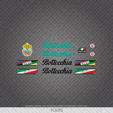 01025 Bottecchia Bicycle Stickers - Decals - Transfers
