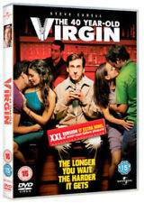 THE 40 YEAR OLD VIRGIN XXL VERSION STEVE CARELL UNIVERSAL UK DVD NEW & SEALED