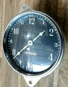 1932 Pierce Arrow Pierce-Arrow Clock Excellent Rare!