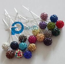 hijab scarf pin hijab flower pin 12pin/lot free ship 12 different colors