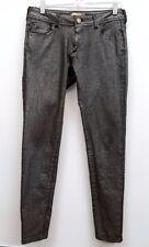 ROMEO & JULIET Size 28 Gray Metallic Wash Denim Skinny Jeans