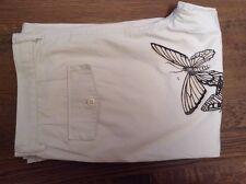 Punk Royal cream mens trousers ( cream butterflies) 35' 34L