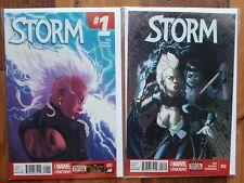 MARVEL COMICS LOT: STORM  #1-2  (2014)