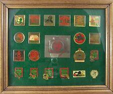 COCA-COLA 20 PIN COLLECTION 1975-1994 Frame Collector Club National Convention