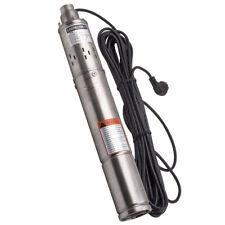 """Pompa sommersa per pozzi da 3"""" 75 mm Elettropompa Acciaio Inox 1020 l/h 250W 75m"""