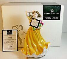 Royal Doulton Joanna Pretty Ladies Figurine HN4711 Box/COA