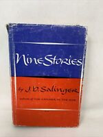 Nine Stories J.D. Salinger 1953 Hardcover Book Club Edition w/Dust Jacket 17th P