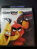 The Angry Birds Movie [4K Ultra HD Blu-ray] [2016]