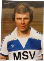 """Bernard """"Ennatz"""" Dietz + MSV Duisburg + Schalke 04 + Fan Big Card Edition C101 +"""