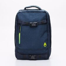 Mochila/Backpack - NIXON - DEL MAR - 18L - 33x42cm - NAVY/GREEN - AZUL/VERDE