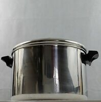 Revere Ware 6 Quart Stockpot with Lid Stainless Steel Post 1968 Cookware