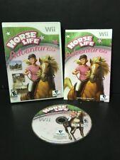 Horse Life Adventures (Nintendo Wii, 2009) Complete