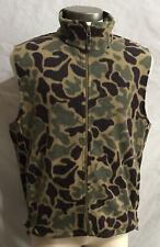 Woolrich Men's Camouflage Full Zip Sleeveless Vest Size Large