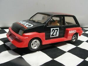 SCALEXTRIC METRO   RED  #27 L6104  1:32 SLOT USED UNBOXED