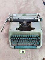 Rare Vintage Gullwing Oliver MT 10 Typewriter Green Barn Find Needs Restoration