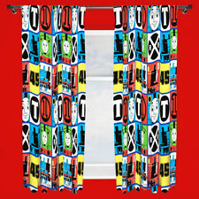 Thomas The Tank Engine Ready Made Pair Of Kids TEAM Curtains 66 x 72 Inch