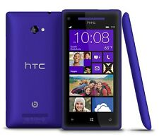 "HTC Windows Phone 8X - 16GB Blue (Unlocked) Smartphone 4.3"" 5MP PRESTINE"