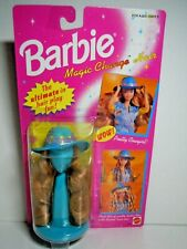 Mattel Barbie 1993 Magic Change Hair Cowgirl Style Hair and Hat NRFB