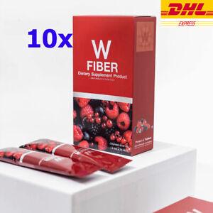 10x PANCEA W Fiber Detox Dietary supplement Reduce Belly Weight Loss DHL Express