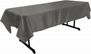 New Creations Fabric & Foam Inc, Polyester Bridal Satin Rectangular Tablecloth
