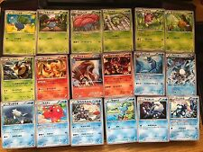 Complete Set of Best of XY Common Uncommon (128) - XY High Class Japanese cards
