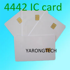 20 PCS ISO 7816 white PVC IC with SLE4442 chip blank Smart Card contact IC card